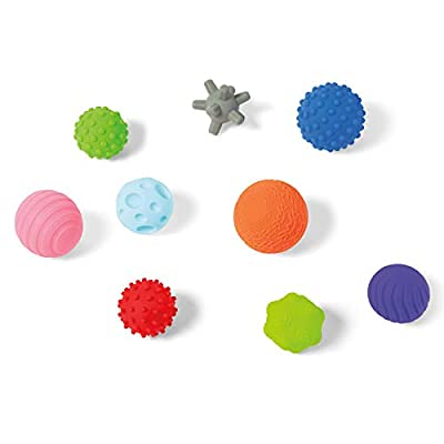 Kidoozie Touch 'n Roll Sensory Balls - Developmental Toy for Infants and Toddlers Ages 6 - 18 Months