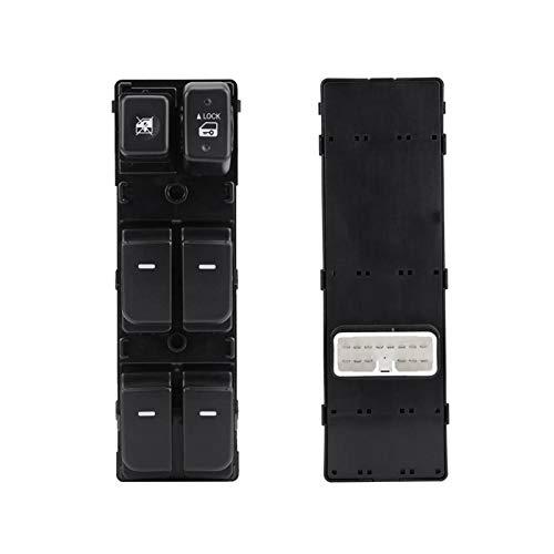 KCSAC Botón de interruptor maestro de la ventana eléctrica del lado del conductor de la puerta delantera para Kia FORTE Cerato 2010 2011 2012 93570-1X000 935701X000