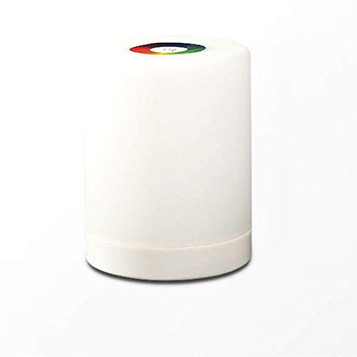 GDICONIC Lámpara de Mesa Luz Nocturna, luz de Control táctil, Blanco cálido + Color Regulable, luz de Noche Recargable, Dormitorio, Sala de Estar