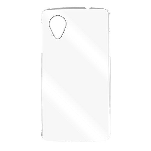 ホワイトナッツ Nexus5 LG-D821 ケース クリア ハード スマホケース ネクサスファイブ 透明 保護 薄型