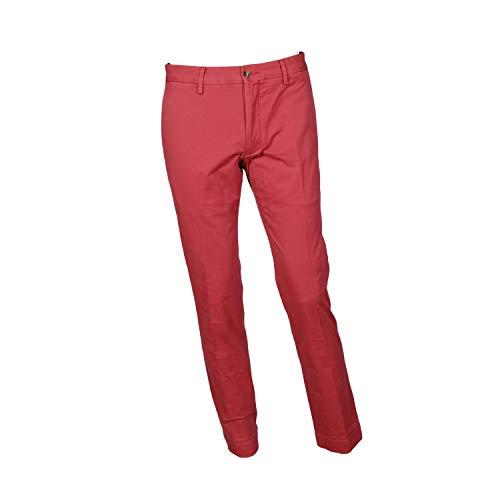 Polo RL Men's Stretch Slim Fit Chino Pants-Nantkt Red-34 X 30