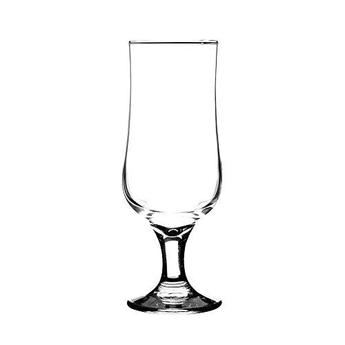 Ravenhead 41.295 Tulip Sleeve Stemmed Beer Glass 35 cl, Pack of 4
