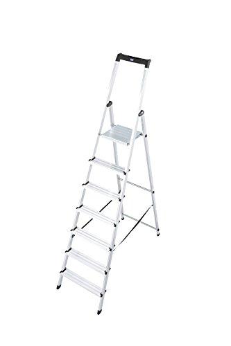 KRAUSE Stehleiter Solidy, 7 Stufen, 120252