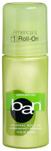 Ban Original Roll-On 2021 autumn and winter new Al sold out. Antiperspirant Deodorant Unscented 1.5-Ou