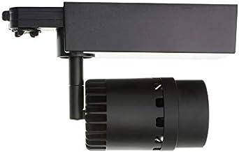 UGR 19 LEDKIA LIGHTING Foco LED CREE Cannon Negro 20W para Carril Trif/ásico Blanco Fr/ío 5000K