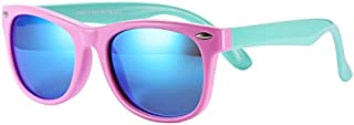 Pro Acme TPEE Rubber Flexible Kids Polarized Sunglasses...