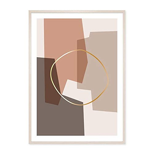 Geometric Graphic Canvas Painting Wall Art Picture Poster Print Gallery Living Room Home Decoration 21x30 cm