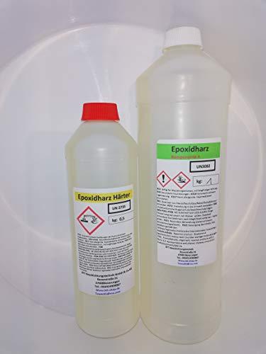 3 kg Epoxidharz-2K Glasklares GFK-Epoxydharz Epoxy Laminierharz UV-Stabilisiert