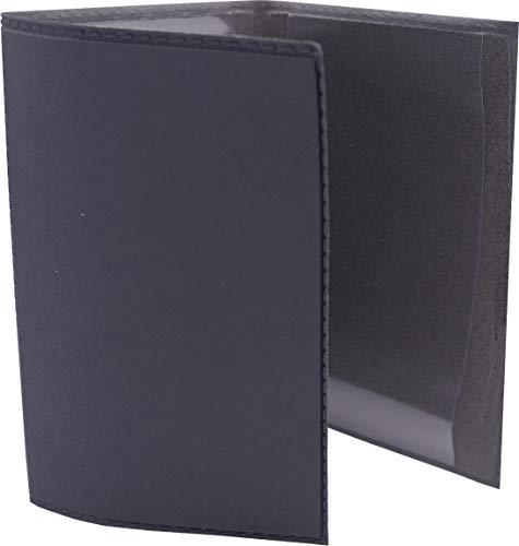 Etui carte grise PVC et gomme gris plomb - Protège votre carte grise - Resistant
