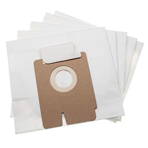 vhbw 10 sacs papier compatible avec Hoover Freespace Evo, FV70_FV04011, FV70_FV05011, FV70_FV06011 aspirateur 15.85cm x 17.5cm