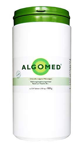 Algomed - Chlorella vulgaris microalgas - 1000 g/aprox. 3334 tabletas de Chlorella