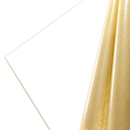 Lucite (Acrylic) Clear, Transparent, 6 MM, 1/4' Thick, 30' W x 42' L