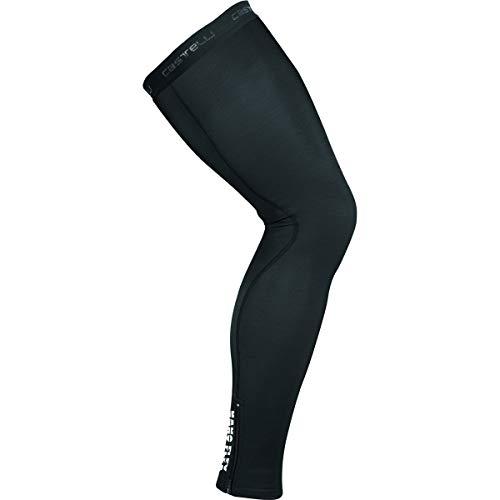 Castelli Nano Flex 3G Legwarmer, Unisex Leg Warmers - Adult, Black, L