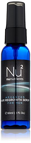 NuNutrients Advanced Hair Regrowth Treatment for Men - Easy-to-use Spray Bottle (One Bottle - 2 FL...
