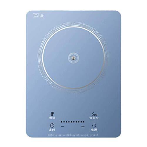 Cocina de inducción multifunción Inteligente Mini-Horno de la calefacción 2200w hogar Tipo táctil de Alta Potencia de la Estufa eléctrica de té función Conveniente: salteado, cocinar, sartén, Olla de