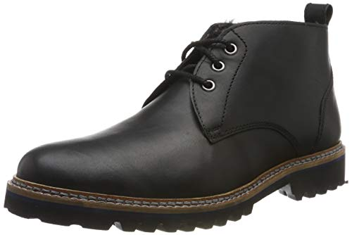 Sioux Herren Quendron-709-Lf Chukka Boots, Schwarz (Schwarz 000), 43 EU