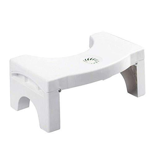 Guajave klappbarer Multifunktions-Toilettenhocker tragbarer Treppe für Zuhause und Badezimmer