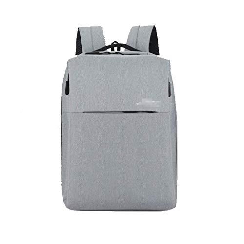 WYJW rugzak 15,6-inch laptoptas Business Travel Pack USB-laadaansluiting pakket reizen bergbeklimmen tas grijs