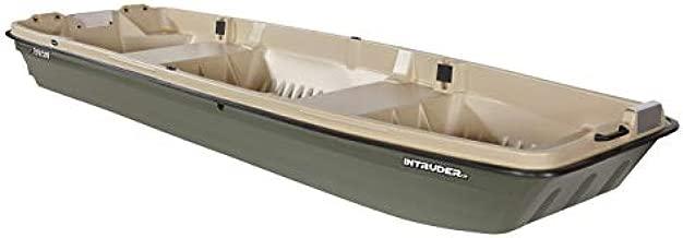 Pelican - Boat Intruder 12 - Jon Fishing Boat - 12 ft. - Great for Hunting/Fishing, Khaki/Beige