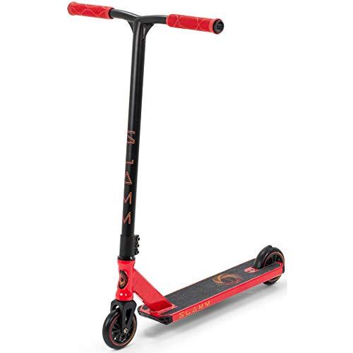 Slamm Scooters Urban V8 Roller, Unisex, für Erwachsene, Unisex, SL1420, rot (rot), Einheitsgröße
