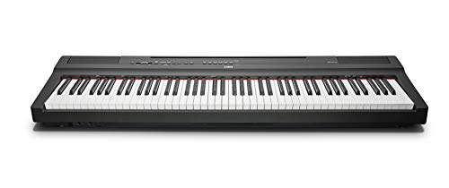 Yamaha P-125B - Piano digital, color negro