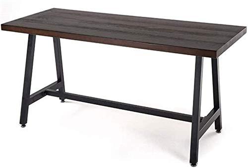 N/Z Wohngeräte Computertisch Massivholz Loft Langer Tisch Büro Konferenztisch Schreibtisch für Familien Wohnzimmer Meeting Room Company