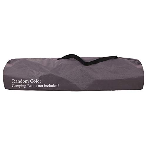 REDCAMP Bolsa de Transporte para Cama de Camping, Bolsa de Almacenamiento para Cama de Campamento, Color Aleatorio
