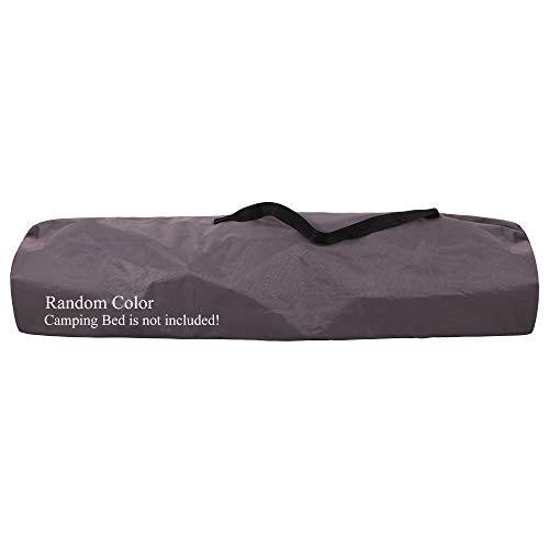 REDCAMP Sac de transport pour lit de camping, sac de rangement pour lit de camping, couleur aléatoire
