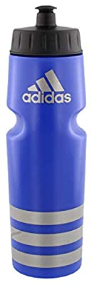 adidas Unisex Squeeze 750 Plastic Bottle, Bold Blue/Silver, ONE SIZE