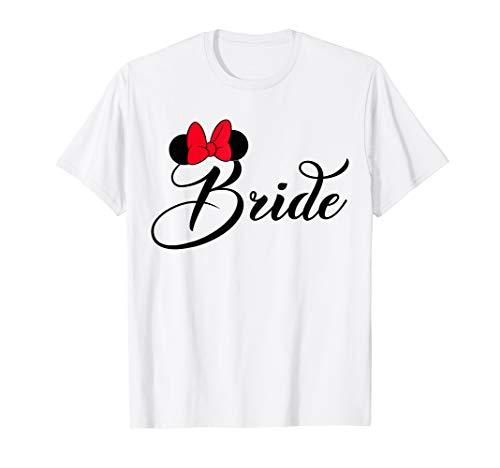 Disney Bridal Minnie Bride Bow T-Shirt