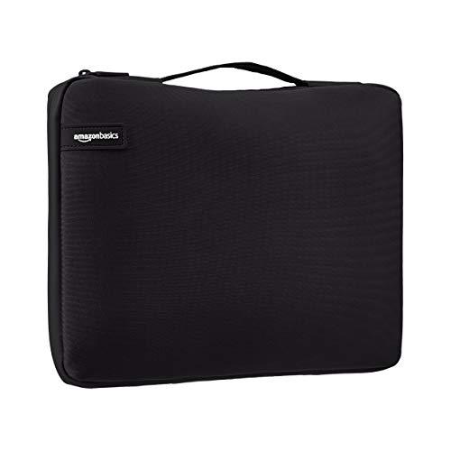 "Amazon Basics 13.3"" Professional Laptop Sleeve (With Retractable Handle) - Black"