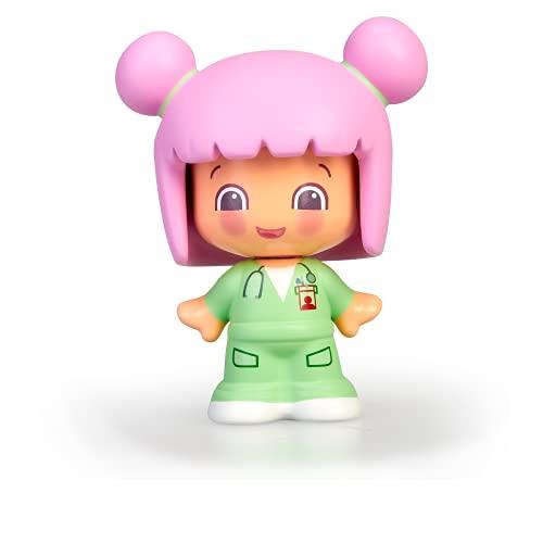 Pinypon - My First, Figura Doctor, Minifigura de médico para peques a partir de un año, jugar a los doctores y estimular su juego, Con 3 caras diferentes y cuerpo intercambiable, FAMOSA (700016401)