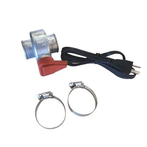 "All States Ag Parts Kat's Lower Radiator Hose Heater Thermostatically Controlled 1-1/2"" 600 Watt 120V Kubota M4500 L5450 L345 KH191 L4350 R410 M5030 KH151 KH28 L355 L4150 L4850 M4050 L305 L3350 KH101"