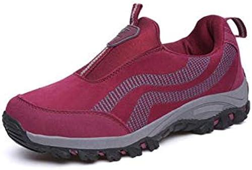 FH Outdoor Sports Schuhe Wandern Schuhe Casual Laufschuhe Laufschuhe Laufschuhe Klettern Schuhe (Farbe   Grau, Größe   EU36 UK4 CN36)  Exportgeschäft