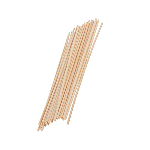 GREENLANS-1 50Pcs Reed Diffuser Sticks, Rattan Sticks Fragrance Essential Oil Diffuser Perfume Volatiles Decoration 1