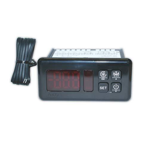 Termostato digital AKO D14323-50°/+99° | AKO Con descarche, 3 Reles, (Sonda NTC)