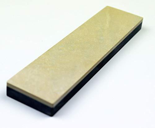 Schleifstein Abziehstein Gelber Belgischer Brocken Grösse 200x50 mm Damast Messer-Schärfer