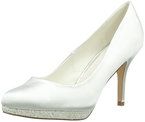 Menbur Wedding Damen Cecilia Pumps, Elfenbein (Ivory), 39 EU