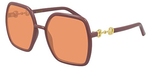 Gucci Gafas de Sol GG0890S Pink/Orange 55/19/140 mujer