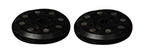 Glield Ein Paar Slide Pucks mit 8 Feuersteinen, kann Flammen entstehen, CBHK02, schwarz, Size