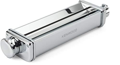 Kenwood XL Walze KAX99.A0ME, Zubehör Küchenmaschinen, für extra breita Lasagne-Platten mit bis zu 22 cm, verchromtes Edelstahl-Gehäuse, Walzenrollen aus robustem Aluminium