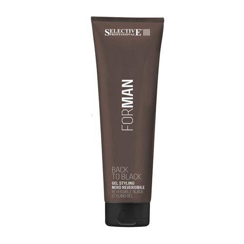 BACK TO BLACK GEL STYLING NEGRO 150 ML - SELECTIVE PROFESIONAL