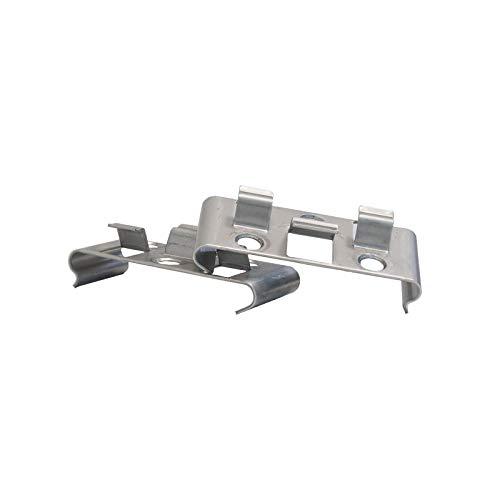 Kovalex Montageklammern für Terrassendielen, 25 Stück