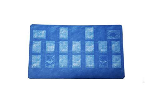 AArt TM Yugioh Custom Blueprint Template 2017 Master Rule 4 Link Zone Playmat - TCG Playmat - TCG Playmat - Yugioh Duel Playmat, Gaming Playmat, Gaming Rug