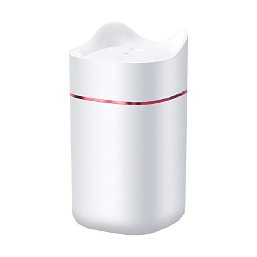 Zhouzl Hogar & Jardín Home Office 1.4L Capacidad aromaterapia Spayer humidificador de Aire Difusor Hogar & Jardín (Color : Blanco)