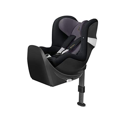 Cybex - Silla de coche grupo 0+/1 Sirona M2 i-size, desde el nacimiento hasta los 4 años, de 45 cm hasta 105 cm aproximadamente, 19 kg máximo, con base M, Negro (Premium Black)