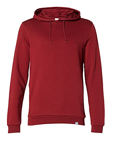 CARE OF by PUMA Men's Longsleeve Hoodie Tall Fit, Red (Red), XL, Label:XL