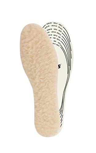 Kaps Kinder Einlegesohlen Wolle – Schuheinlagen aus 100{80176c51882215b5d42dbddde7654408c6ed2e7b804f6e16f9e2b8e9a7e54229} natürlichen Schaffell für warme Schuhe – Schuhsohlen & Thermo Einlegesohlen in allen Größen – Schaffellsohlen hergestellt in Europa