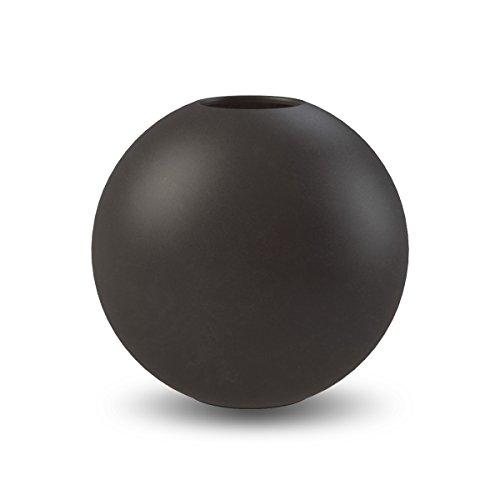 Cooee Design Ball Vase 10cm Black