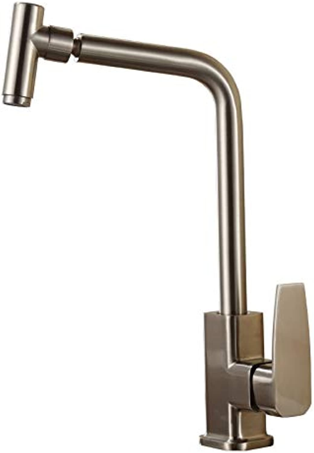 redOOY Faucet Tap ?Electroplated Brushed Kitchen Sink Faucet?360?Degree redating?Faucet
